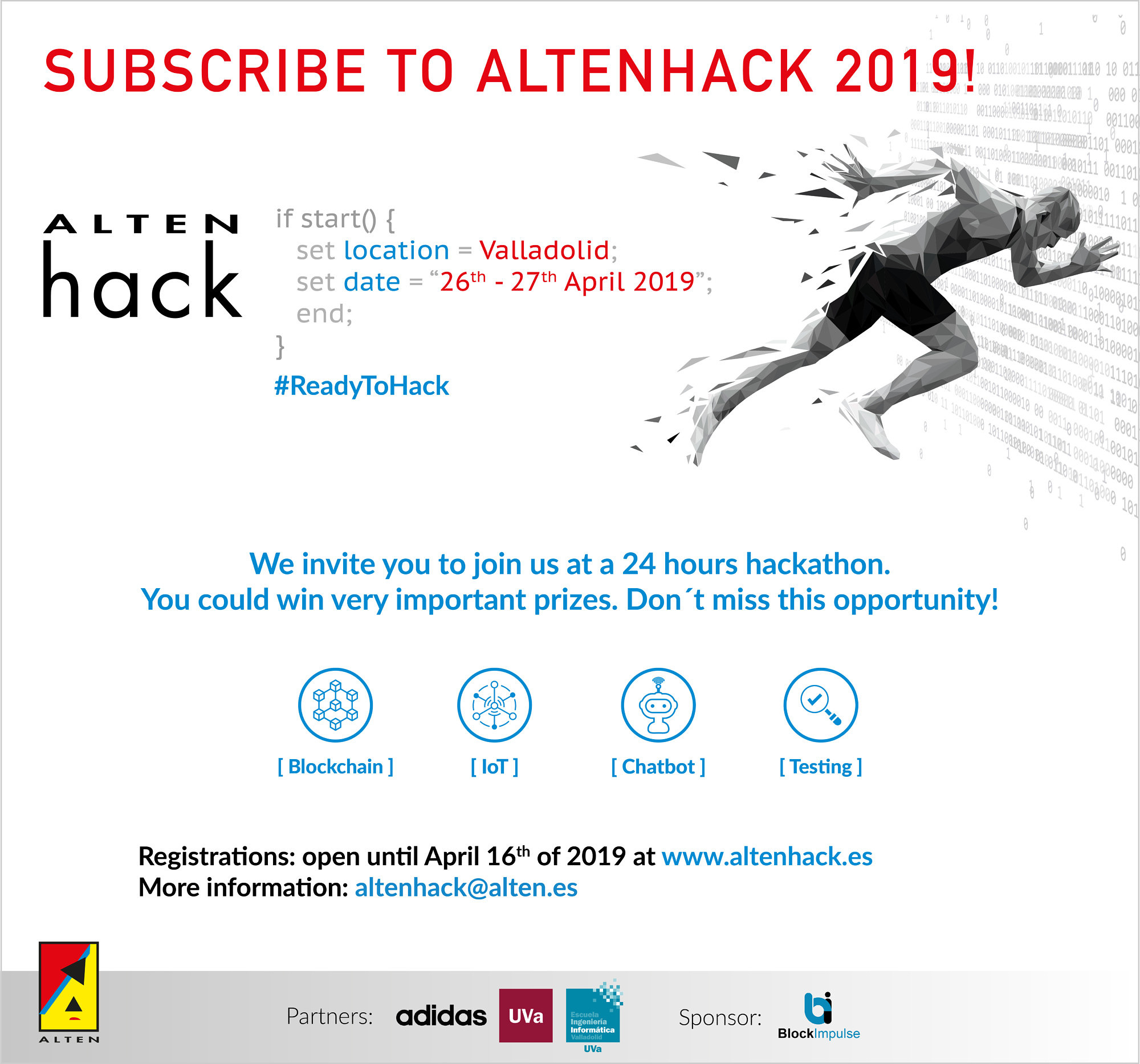 "Towards entry ""Adidas Hackathon Valladolid – Spain April 2019"""
